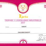 Trophée Chaudriconcept